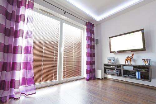 Cortinas modernas para el sal n dise os que inspiran - Tipos de cortinas para salon ...